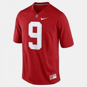 Alabama Roll Tide #9 For Kids Amari Cooper Jersey Red College Football University 227143-945
