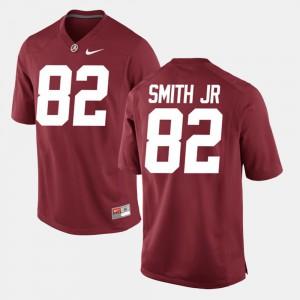 Alabama Crimson Tide #82 For Men's Irv Smith Jr. Jersey Crimson Stitch Alumni Football Game 798423-562