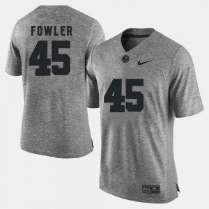 Roll Tide #45 Men Jalston Fowler Jersey Gray Gridiron Limited Gridiron Gray Limited College 401519-201
