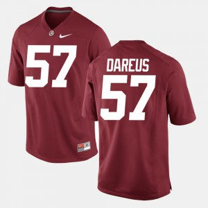 University of Alabama #57 Men's Marcell Dareus Jersey Crimson Alumni Football Game University 456550-986