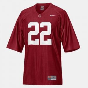 University of Alabama #22 Mens Mark Ingram Jersey Red University College Football 460685-412