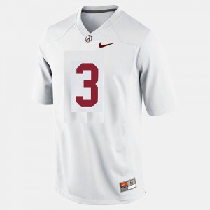 Alabama Roll Tide #3 Youth Trent Richardson Jersey White Player College Football 406328-909