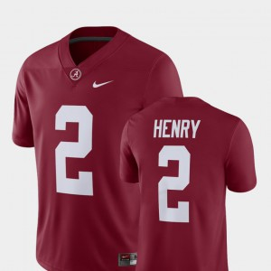 Bama #2 For Men Derrick Henry Jersey Crimson Player Alumni Football Game High School 411657-935
