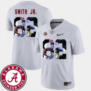 Bama #82 Mens Irv Smith Jr. Jersey White High School Pictorial Fashion Football 475444-557