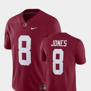 Alabama #8 Men Julio Jones Jersey Crimson High School Alumni Football Game Player 483798-797