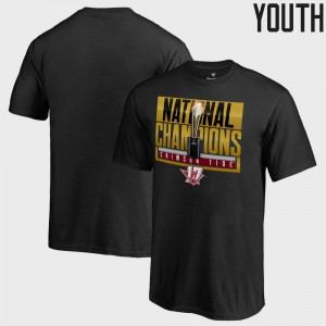 Roll Tide Kids T-Shirt Black Player Bowl Game College Football Playoff 2017 National Champions Pass Trophy 564279-996