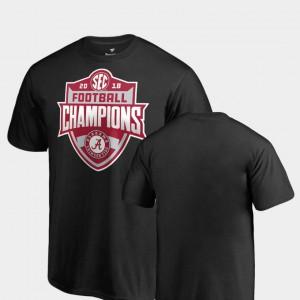 Alabama Crimson Tide Kids T-Shirt Black College 2018 SEC Football Champions Big & Tall 281749-698