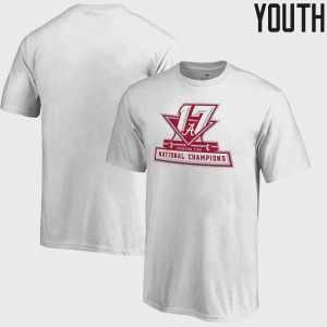 Bama Kids T-Shirt White Embroidery Bowl Game College Football Playoff 2017 National Champions Official 226702-466